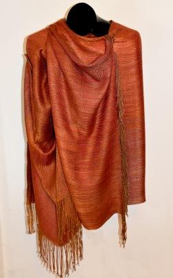 FOLDER image brown silk