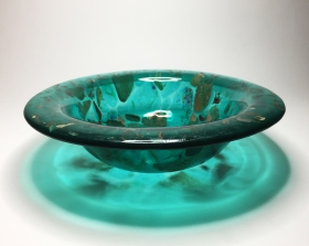 Jennifer Kelly 2 aqua pebbles bowl