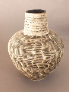 pot with neck