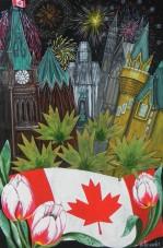 Pride of Ottawa 150th. Canada Day Fireworks (002)