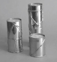 Welded tube candle set - $90